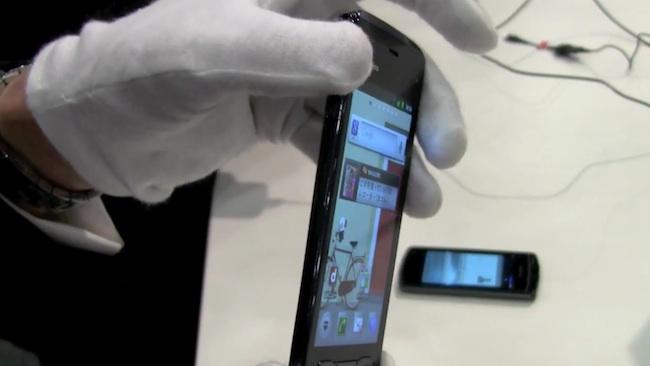 Fujitsu Arrows F-07D, otro Android que sobresale por su delgadez