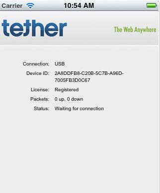 Apple da el visto bueno a una aplicación que permite tethering ilimitado