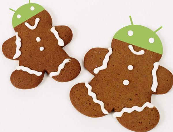 Gingerbread ya equipa la mitad de los dispositivos Android
