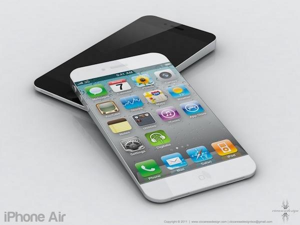 Una imagen filtrada muestra un iPhone 5 completamente rediseñado