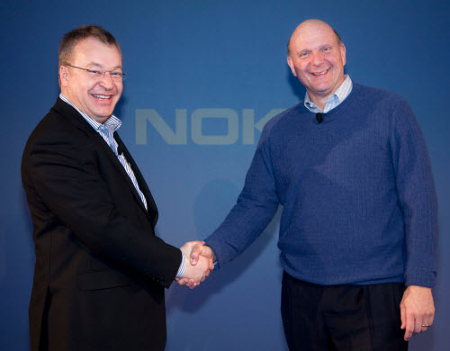 Nokia le venderá su división móvil a Microsoft el próximo año