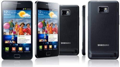 Samsung Galaxy S2, por delante del iPhone 4S