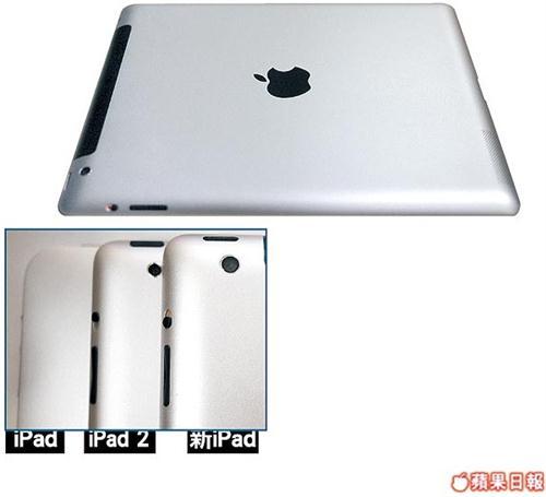 Más del iPad 3: procesador A5X y cámara de 8 MP