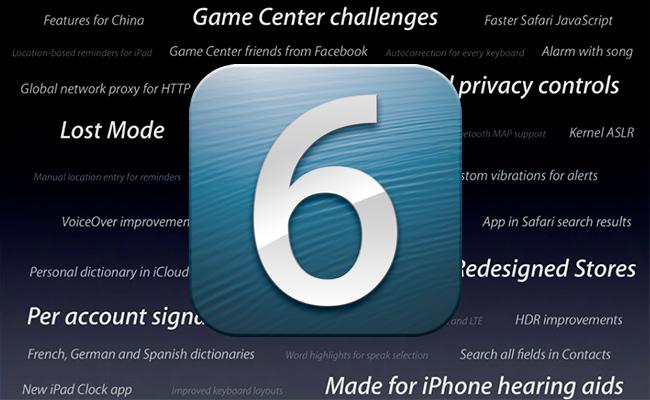 iOS 6 llega con grandes novedades