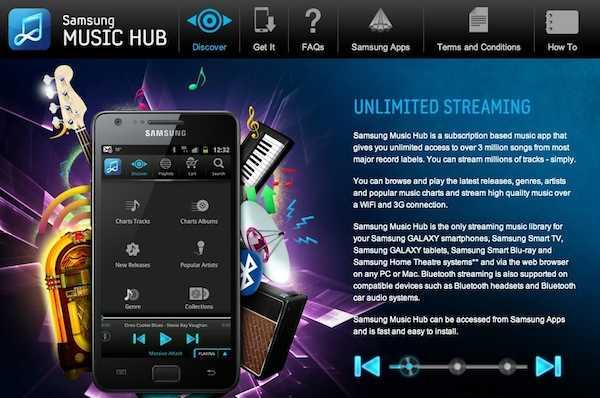 Llega Galaxy Music Hub, el iTunes Killer de Samsung