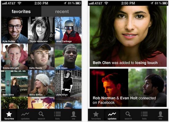 Organiza a tus contactos en tu iPhone o iPad