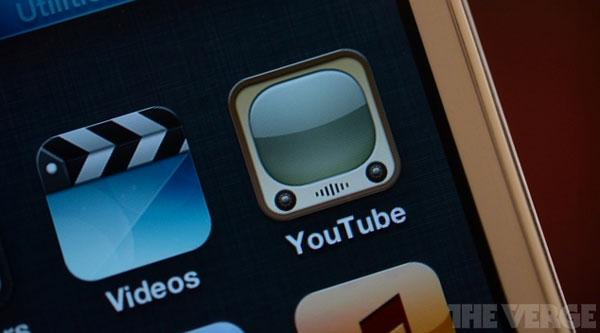 iOS 6 se queda sin YouTube