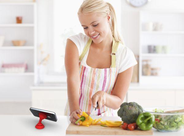 El uso de smartphones en la cocina aumenta considerablemente