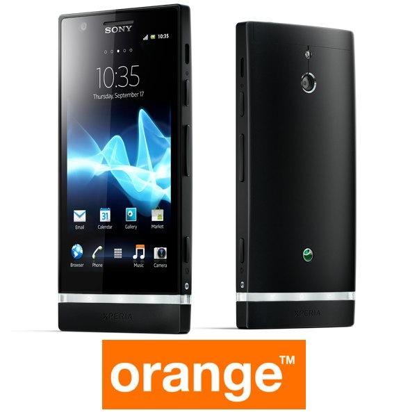 Precios y tarifas del Sony Xperia P con Orange