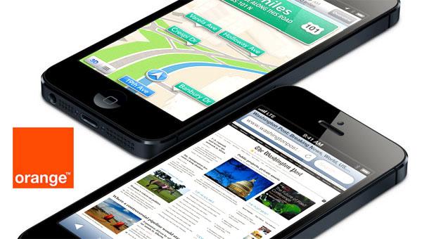 Precios del iPhone 5 con Orange