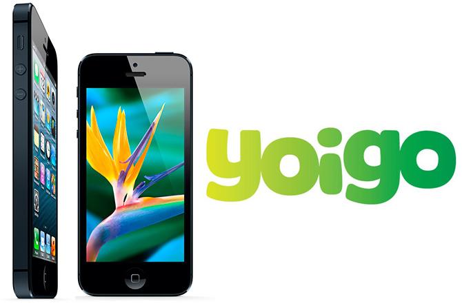 El iPhone 5 se pondrá a la venta con Yoigo el 14 de diciembre