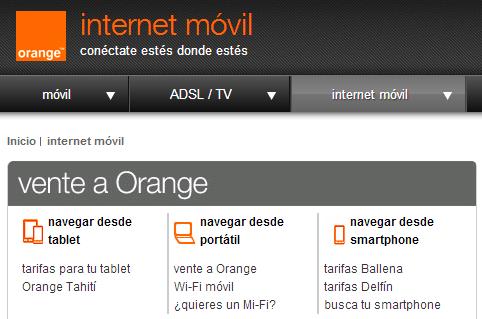 Acusan a Orange de publicidad engañosa