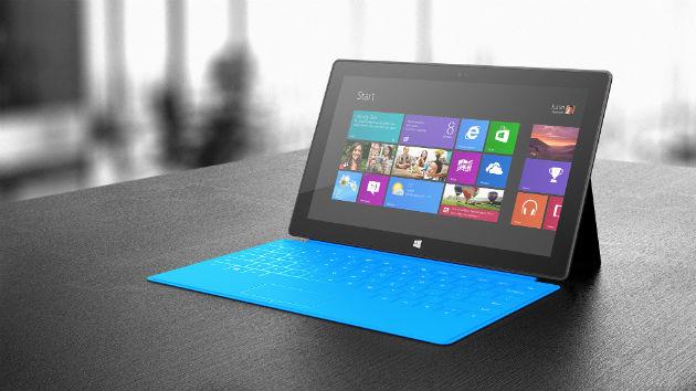 Microsoft Surface RT llegará a España por 479 euros