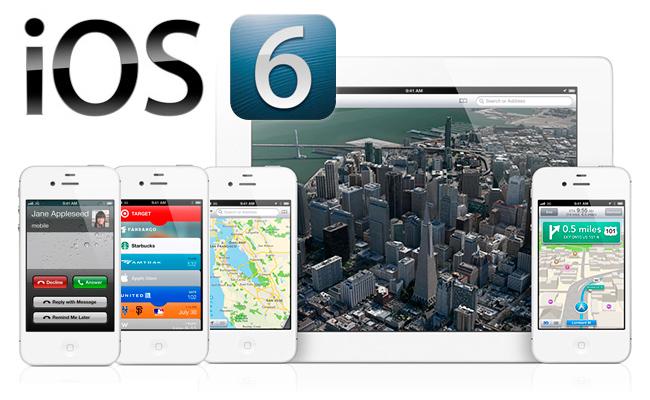 Disponible jailbreak para iOS 6