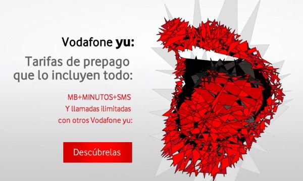 Vodafone Yu mejora sus tarifas para clientes prepago