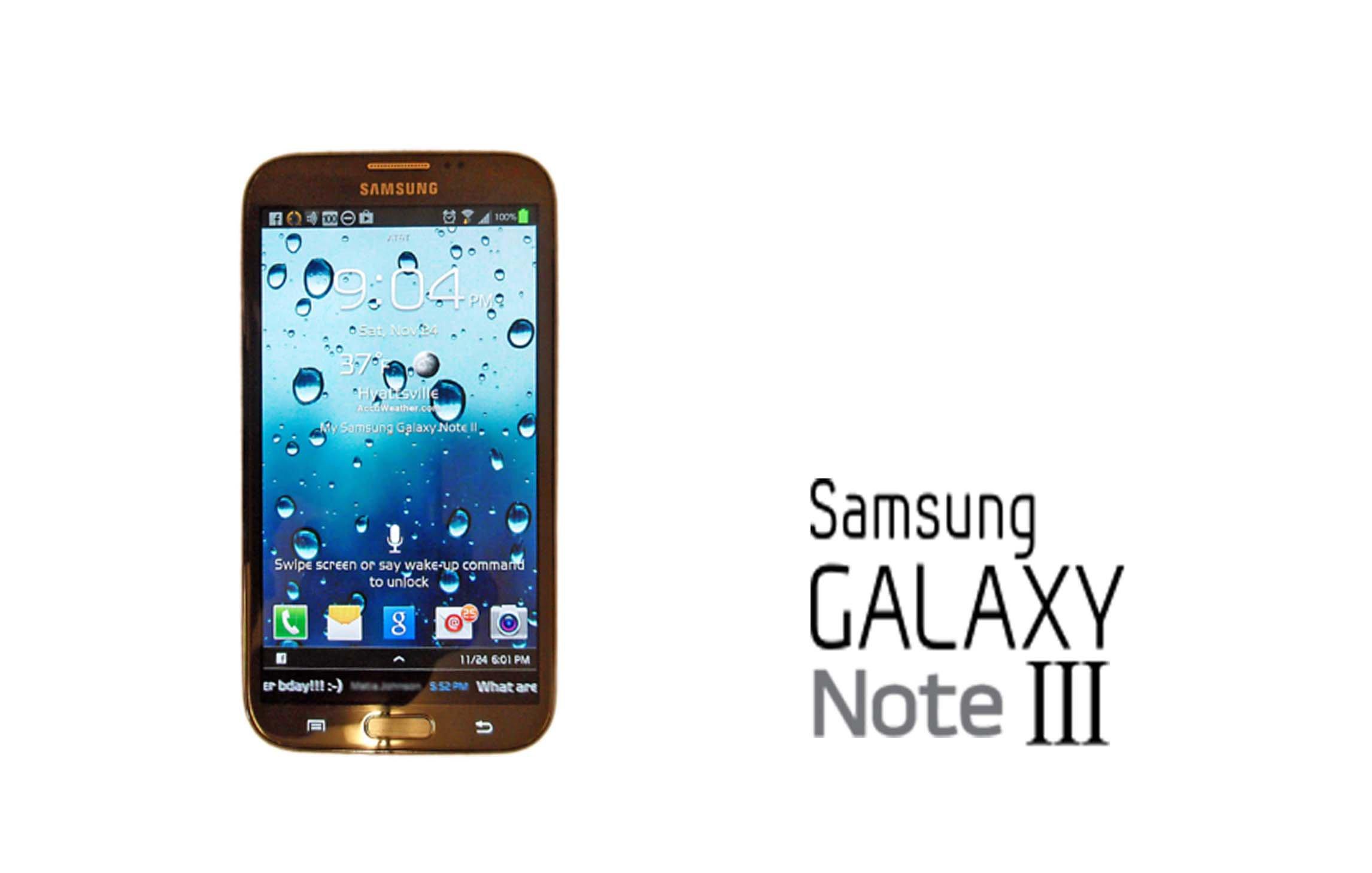 ¿Carcasa de aluminio en el Galaxy Note 3?