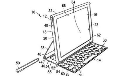 Nokia aprueba la patente de un tablet con funda y teclado