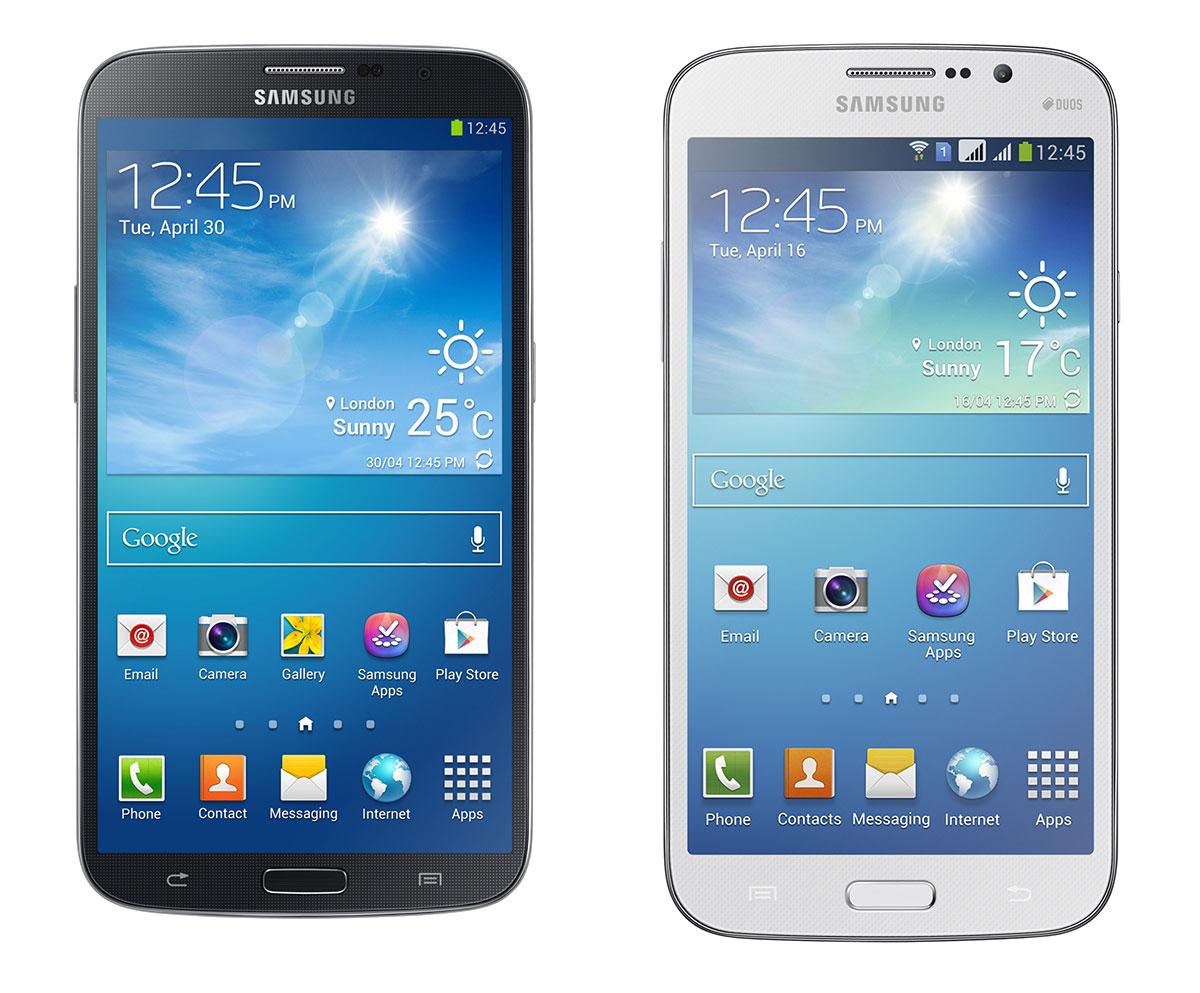 Samsung Galaxy Mega 6.3 y Galaxy Mega 5.8, los dos grandes de Samsung