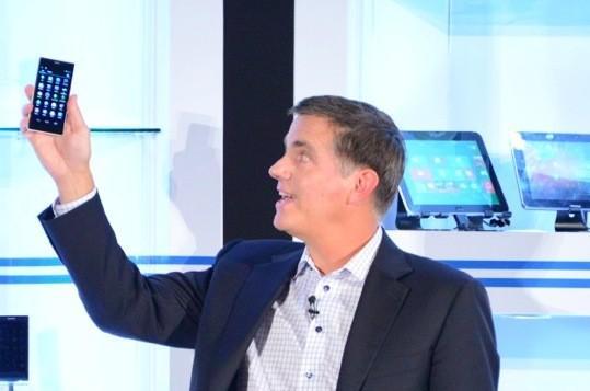 Un smartphone con chip Atom Merrifield se deja ver en Computex 2013