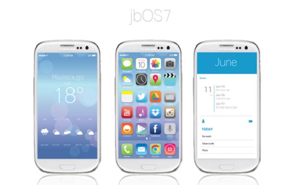 Convierte tu Android en el sistema operativo iOS 7