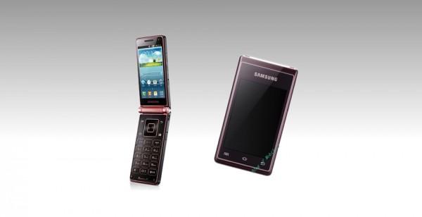 Samsung prepara un teléfono móvil de doble tapa