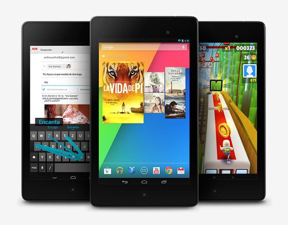 Google comienza la venta de su Nexus 7 LTE 4G