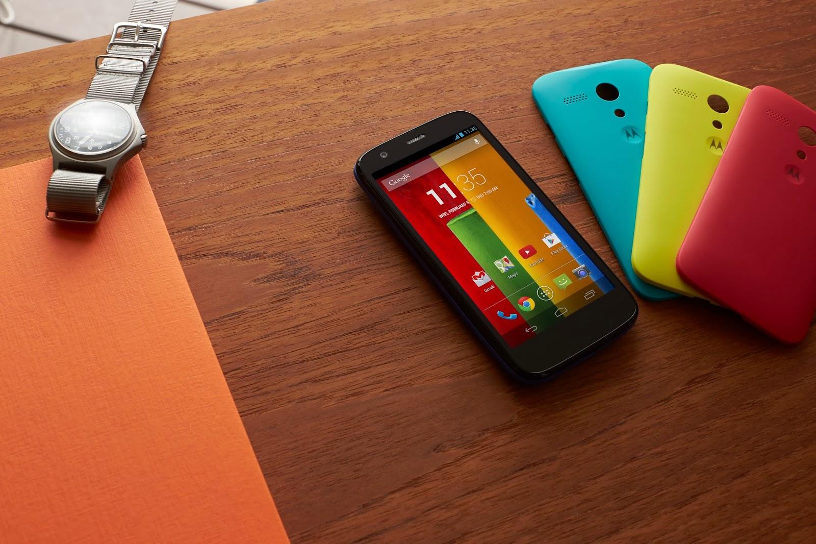 Android 4.4.4 para el Moto G