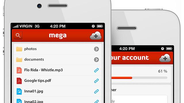 Mega llega a iOS