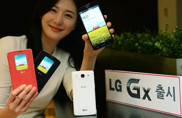 LG lanza su nuevo phablet Gx