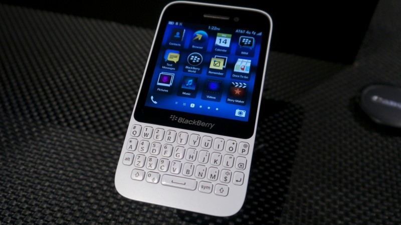 BlackBerry abandonará disimuladamente el mercado de los teléfonos táctiles