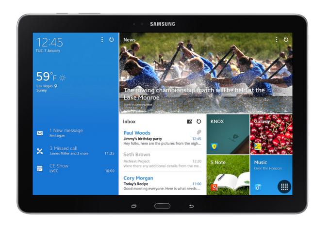 Samsung presenta en el CES sus nuevas tablets profesionales