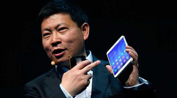 Huawei presenta su phablet MediaPad X1