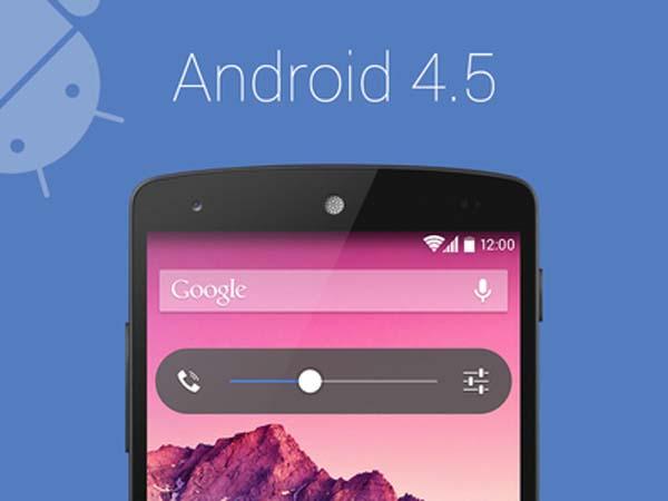 Google podría lanzar Android 4.5 en breve