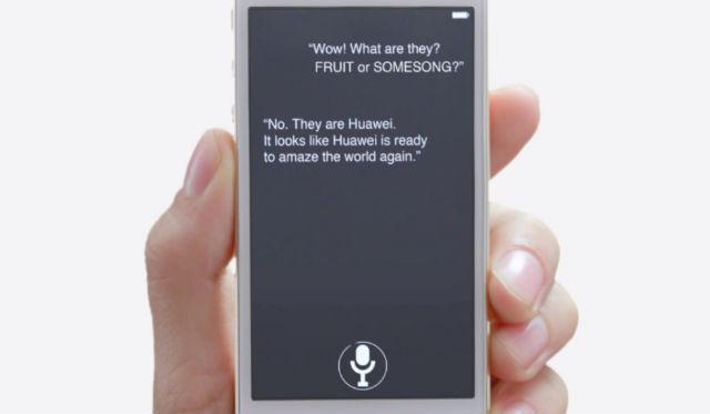Huawei se burla de Apple y Samsung en un vídeo