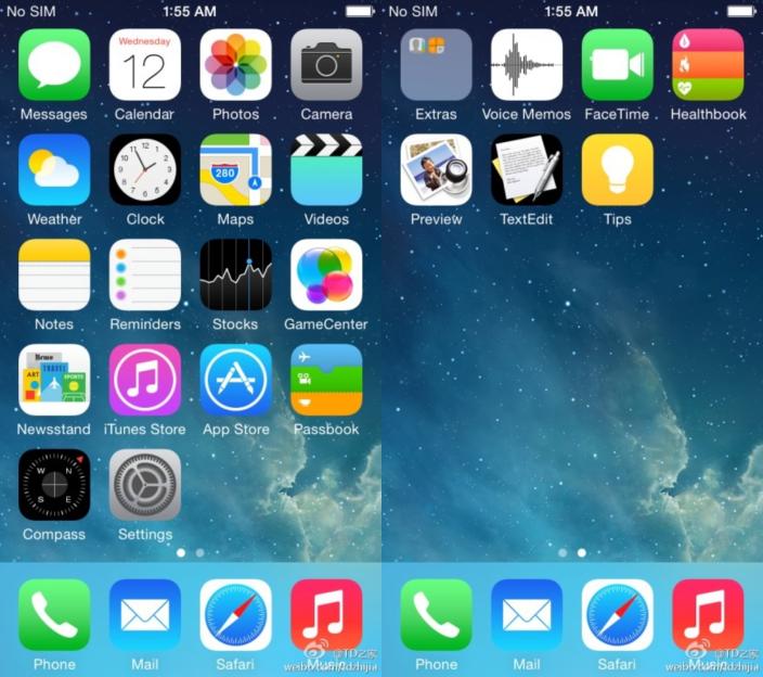 Se filtran las primeras imágenes de iOS 8