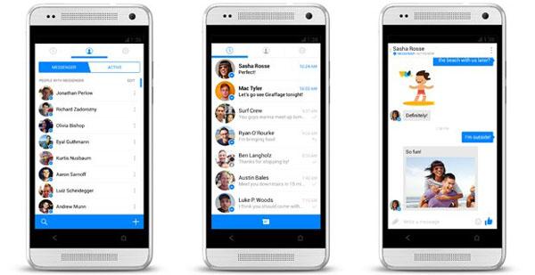 Facebook Messenger permite llamadas de voz