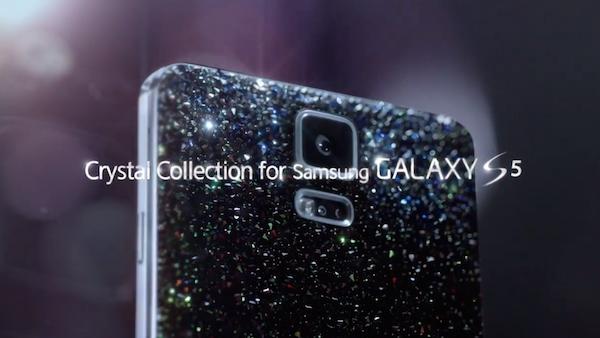 Cristales de Swarovski en el Galaxy S5
