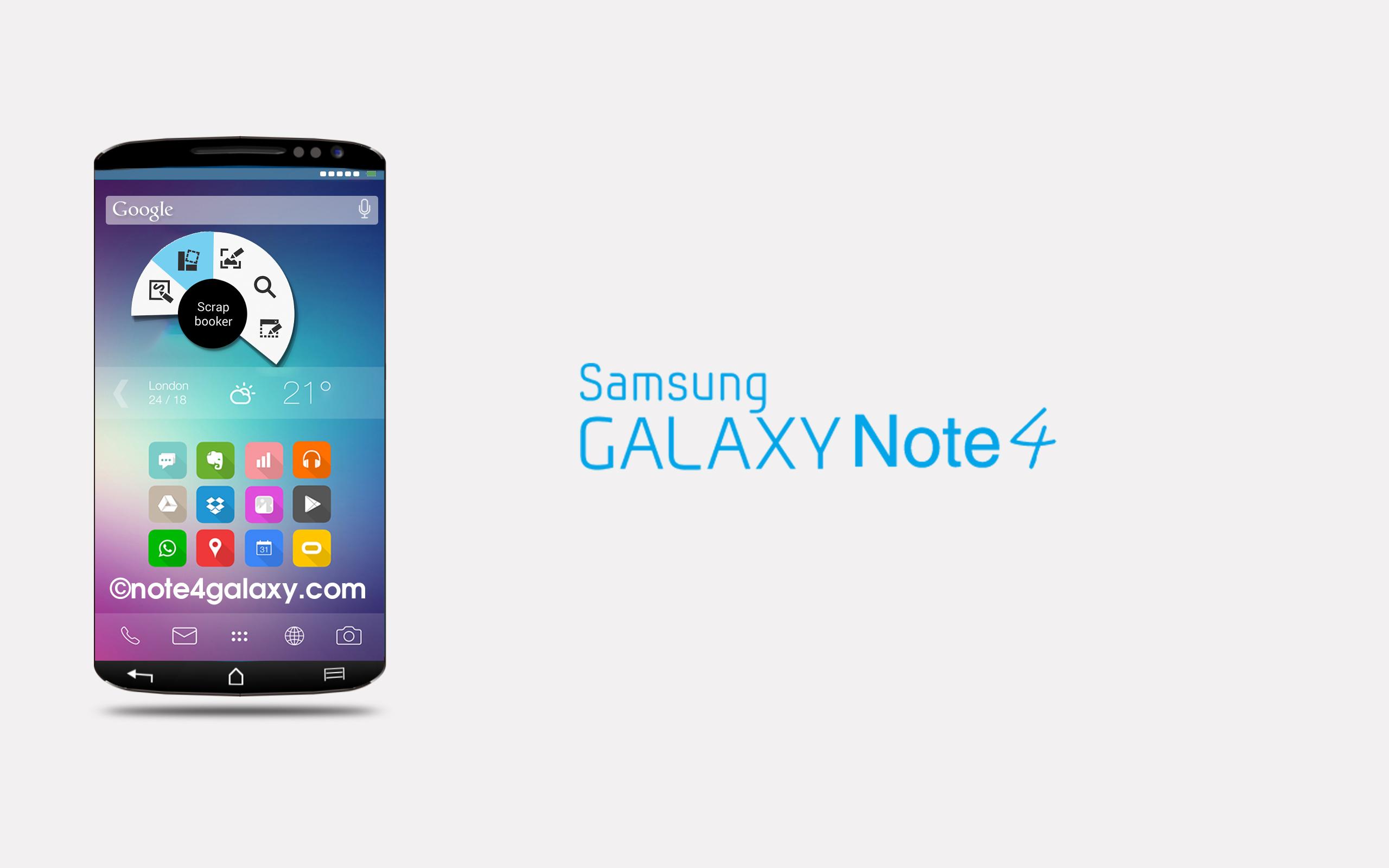 El Samsung Galaxy Note 4 podría contar con pantalla de 5,7 pulgadas