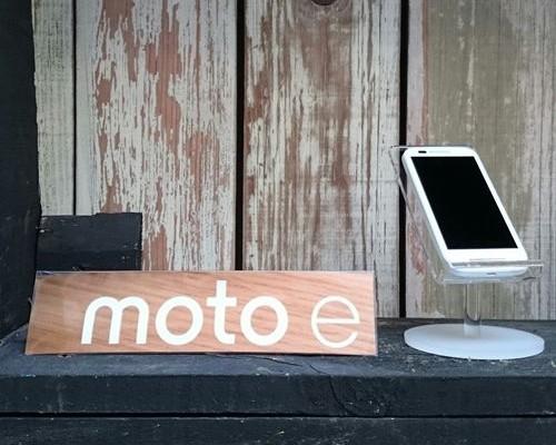 Motorola presenta el Moto E