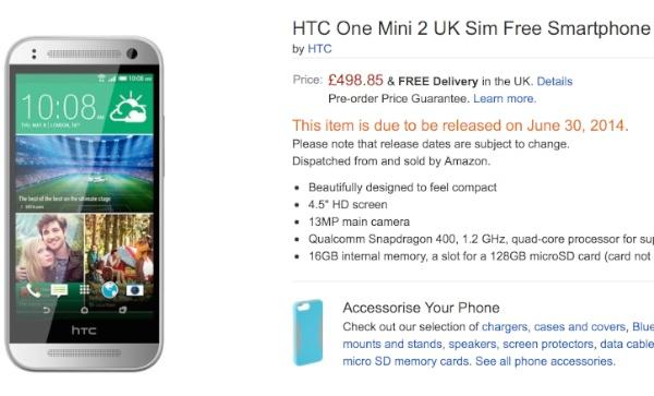 El HTC One Mini 2 podría ser lanzado a finales de junio