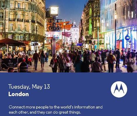 Motorola lanzará un smartphone low cost el 13 de mayo