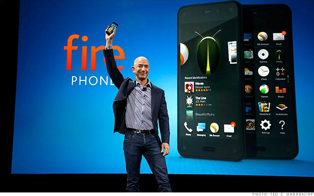 Amazon lanza su primer teléfono el Fire Phone