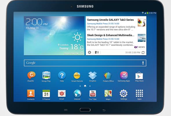 Samsung presenta su nueva tablet Tab S