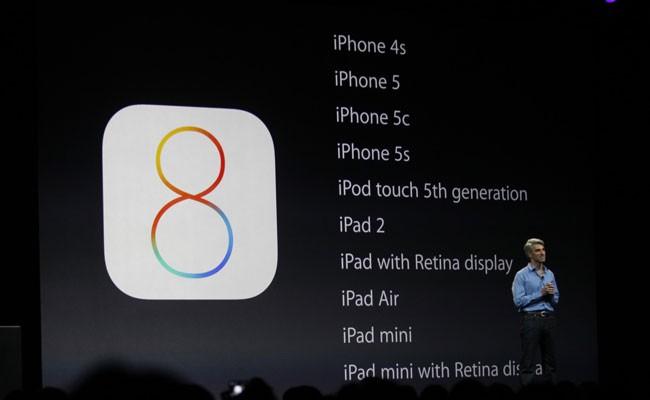 Así es iOS 8, el nuevo SO Mobile de Apple