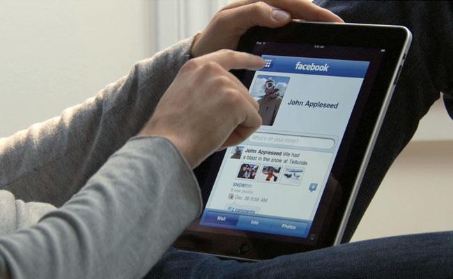 Facebook actualiza su app para iPad para que los usuarios disfruten más del contenido