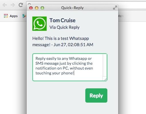 Contesta a WhatsApp desde el PC