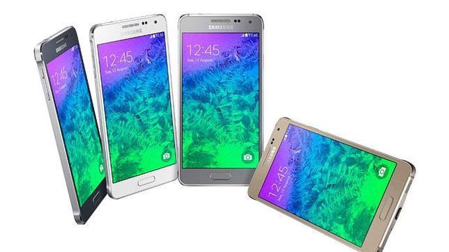 Samsung presenta el Galaxy Alpha