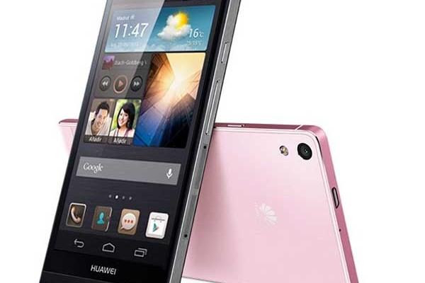 Orange vende en exclusiva el Huawei Ascend P7 en color rosa