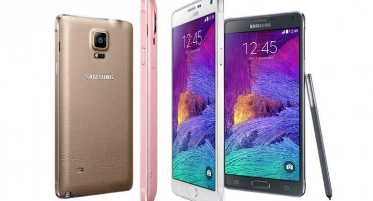 Casi 5 millones de unidades del Samsung Galaxy Note 4