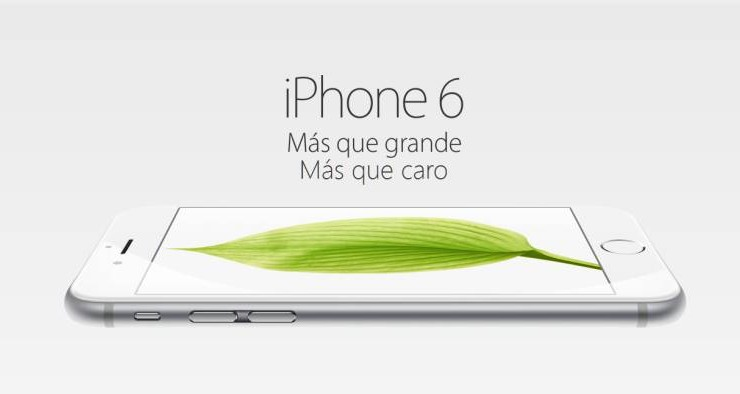 999 € por el iPhone 6 Plus de 128 GB